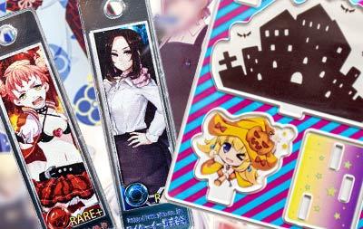 大阪府東大阪市の電子回路の設計やLEDディスプレイやアクリルキーホルダーやキャラクターグッズのワイケーイー株式会社のアクリル加工グッズ