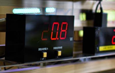 大阪府東大阪市の電子回路の設計やLEDディスプレイやアクリルキーホルダーやキャラクターグッズのワイケーイー株式会社の電力計測計