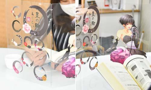 飛沫感染・接触感染を防ぐためのオリジナル印刷ができる激安持ち運びタイプの折り畳みマイパーテーション